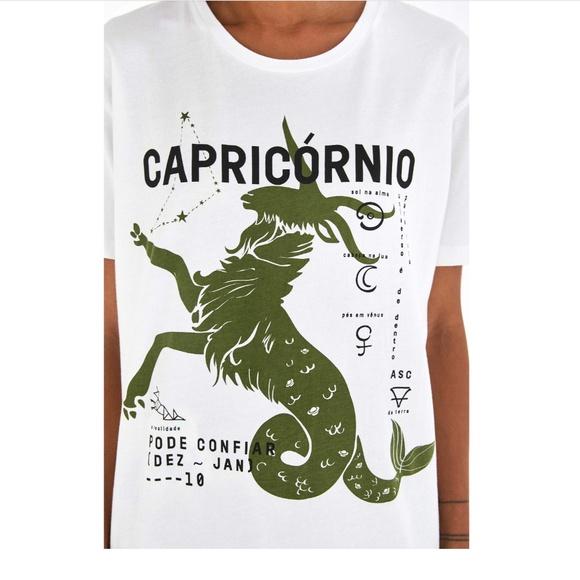 eb275c62 Farm Rio Tops   Nwt Zodiac Capricorn Tshirt   Poshmark